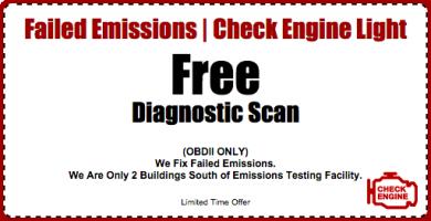 Free Diagnostic Scan