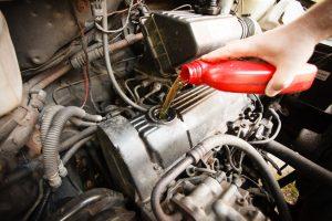 Car fluids get topped off