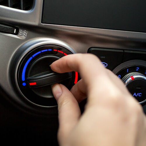 Tuning the AC Temperature in a Car