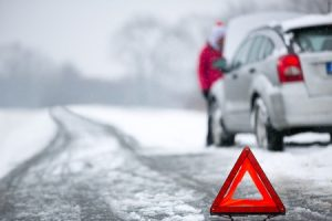 To Winterize a Car, You May Want to Include Hazard Signs.